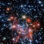 Темная материя в центре Галактики