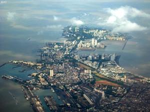 Panoramic View of Mumbai City.