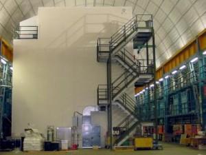 Эксперимент CRESST в подземном туннеле. Фото с сайта эксперимента