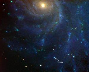 Темная энергия и вспышка сверхновой