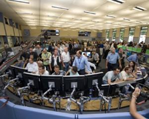 Группа ученых, работающих в Cern на Большом Адронном Коллайдере