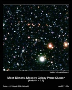 Фотокластер возрастом около 1 миллиарда лет (space.com)
