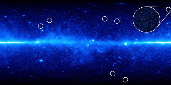 Отобранные для исследования карликовые галактики (иллюстрация Koushiappas and Geringer-Sameth / Brown University).