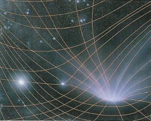 То, что нам кажется силой тяжести, на самом деле является, по сути чисто внешнем проявлением искривления пространства-времени, а вовсе не силой в ньютоновском понимании. На сегодняшний день лучшего объяснения природы гравитации, чем дает нам общая теория относительности, не найдено.