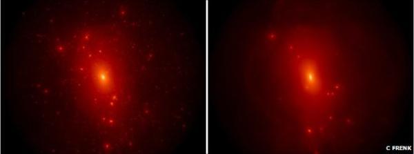 Если исходить из теории холодной темной материи, карликовых галактик вокруг Млечного Пути должно быть значительно больше