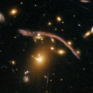 Abell 1689. Самая точная карта темной материи