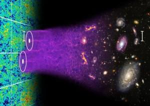 Так выглядит процесс составления трёхмерной звёздной карты: удалённые объекты наносят на единую цифровую карту с указанием расстояния до них и угловых размеров. (Здесь и ниже изображения Berkeley Lab.)