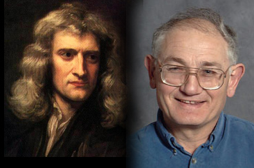 Исаак Ньютон и Мордехай Мильгром