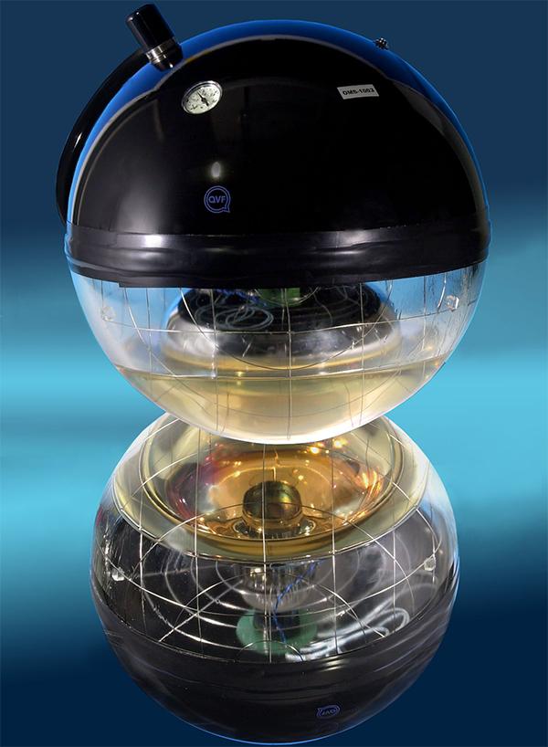 Оптический модуль ANTARES (фото CEA / Irfu).