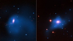 Галактики NGC 4342 и NGC 4291