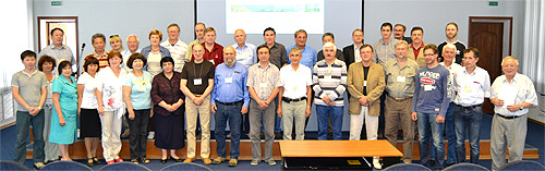 Участники семинара на пленарном заседании