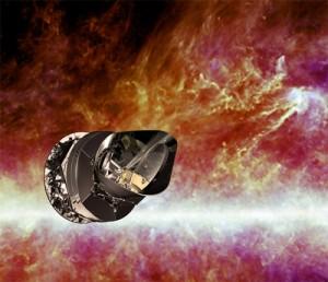 Спутник «Планк» (иллюстрация ESA / C. Carreau)