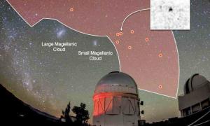 Поиск темной материи вокруг Млечного Пути