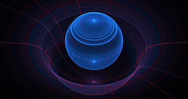 Такое изображение гравитона теории Nexus Стюарт Маронгве разместил в своем твиттере