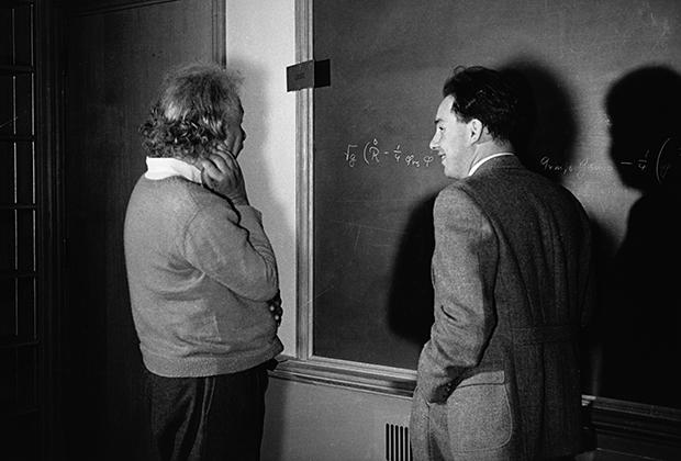 Альберт Эйнштейн в Принстоне Фото: Lucien Aigner / Corbis / East News