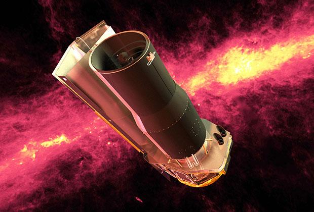 Инфракрасный телескоп «Спитцер»  Изображение: NASA