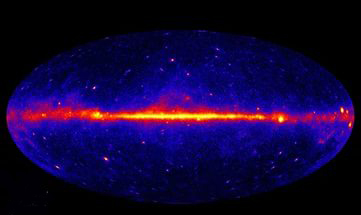 Темная материя непричастна к происхождению гамма-фона